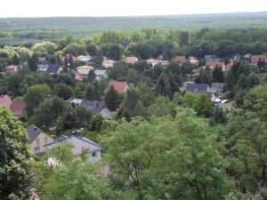 Ferienwohnungen Überm See in Caputh, Schwielowsee | Blick vom Krähenberg
